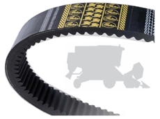 Agricultural and commercial outdoor power equipment belts