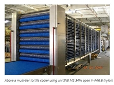Cooling Conveyor for the Baking Industry