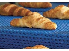 Uni M-TTB modular plastic belt for transferring hot baked products out of the oven