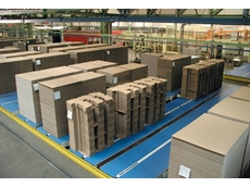 Rydell introduces Uni QNB C for conveying of stacks in a corrugated cardboard plant