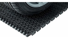 Uni CSB plastic modular belt for the automotive industry