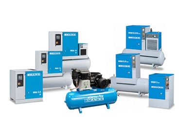 Screw compressors and piston compressors from S & L Engineering