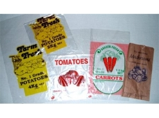 Fruit and Vegetable Packaging Consumables - Plastic bags from SA Crate