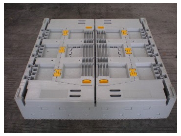 Plastic pallet containers from SBH Solutions