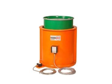 Hazardous area drum and IBC Heating