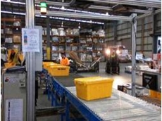 The in-motion bar code scanning system was recently installed for a large Queensland based freight provider