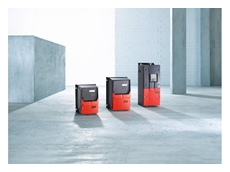 The frequency inverters are available in six frame sizes.