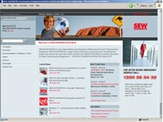 SEW-Eurodrive re-engineers its website