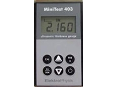 MiniTest 403 ultrasonic thickness testing gauge