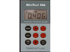 MiniTest ultrasonic 406 thickness gauge