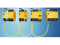 Flexi Link enables up to four Flexi Soft safety controllers to be networked