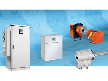 High performance Gas Analysers from SICK leading design and intelligence