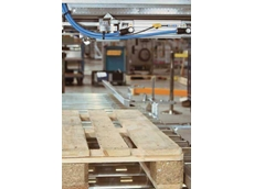 SICK's MPS magnetic cylinder sensors used for pallet and magazine centring in palletisers