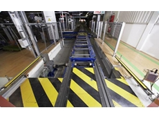 Safety Light Curtains from Sick Reliably Differentiate between Skids and Persons at Automotive Plant Assembly Line