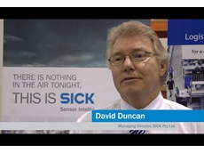 The Changing Nature of Automation in the Workplace: Interview with SICK Managing Director David Duncan [VIDEO]