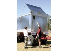 Australia's first fully automated tarp system from Air Tarps is protecting the environment, workers and goods at the push of a button.