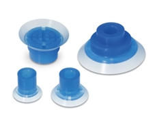 SMC's highly adaptable blue silicone rubber vacuum pad