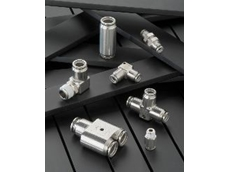 KQG's one-touch fittings are ideal for sensitive food, packaging and pharmaceutical applications.
