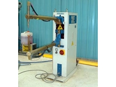 Spot welding is carried out on 7 machines