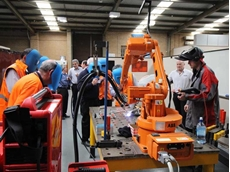 Fronius robotic welding systems are compatible with most leading robot brands including ABB Robotics