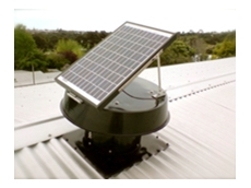 Solar Whiz heat extraction fans
