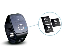 CaddieON features advanced sensing, control and wireless communication chips from STMicroelectronics