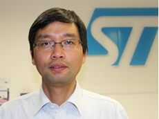 Clifford Shi, STMicroelectronics' Production & Application Manager for the MCU (microcontroller) product group in Australia and New Zealand.