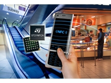 KU380-NFC phone uses ST21NFCA system-on-chip