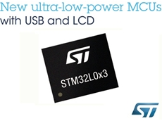 STM32L0x3 with  Outstandingly Low Power Consumption