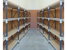 Long span shelving maximises storage space while allowing for efficient stock picking