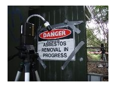 The asbestos air monitoring procedure