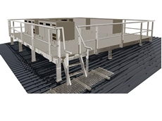 The Access2 engineered lightweight modular platform provides safe access to difficult locations