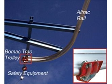 Altrac cranes available from Safety Anchors
