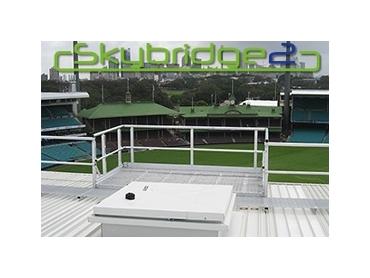 Skybridge2 Modular Walkway System With Handrails