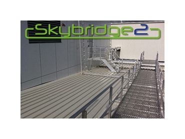 Skybridge2 Modular Walkway System With Handrails