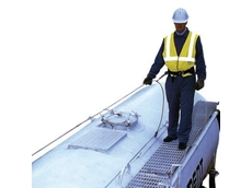 Vehicle access safety equipment for carrying out maintenance on large vehicles, from Vehicle Access Systems, a division of Safemaster