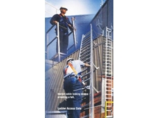 Verticlink Fixed Ladder System from Safety Anchors