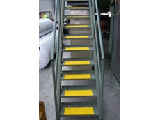 Safemate's nonslip stair treads are designed to reduce injuries by highlighting the leading edge of each step, while delivering sound nonslip properties