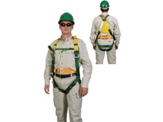 H11 series full body harnesses are constructed from hard wearing webbing and zinc plated buckles, making them ideal for a range of tasks
