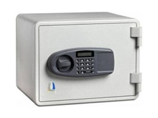 The fire resistant, Junior Locktech EM015, security safe is ideal for home and office installation