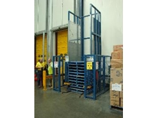 Hook tyne pallet dispensers