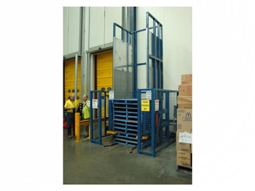 Non Enclosed Hook Tyne Pallet Dispensers for simpler pallet handling