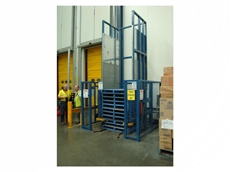 Safetech Single and Double Pallet Dispensers Provide Storage and Easy Retrieval of Empty Pallets