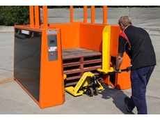 Safetech's new pallet dispensers are available in capacities of 15, 25 or 30 pallets