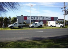 Safetech's expanded manufacturing facility