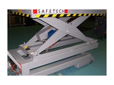 2,000kg capacity lift table