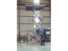 Triple scissor lift with a twist from Safetech