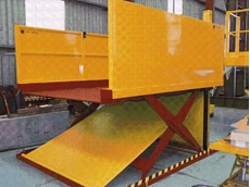 Two tonne low profile scissor lift