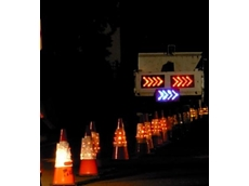LED Safety Chevron