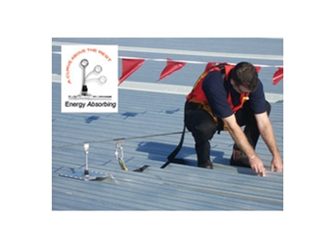 Safety anchors designed for indoor and outdoor applications